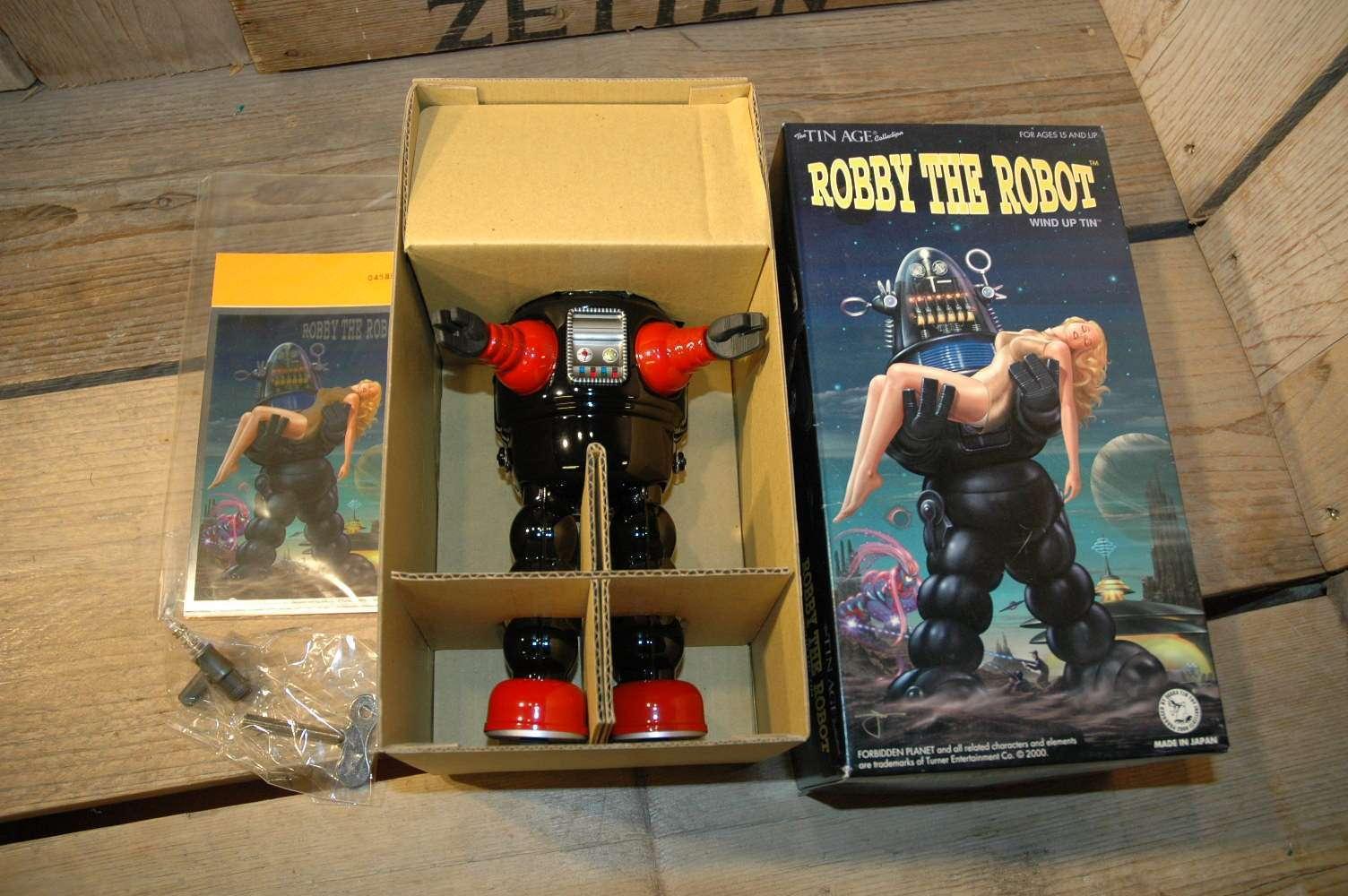 Osaka Tin Toy Institute - Robby The Robot   Black variation