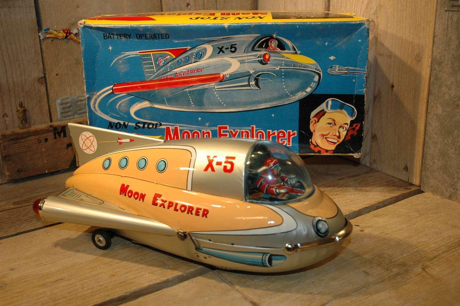 Modern Toys - Non Stop Moon Explorer X-5