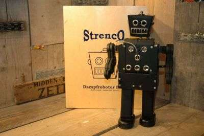 Strenco - DampfRoboter ST-2 Steambot