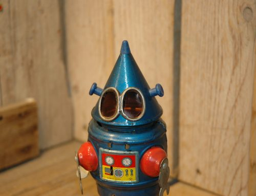 I am also called… CONE HEAD ROBOT ! :)