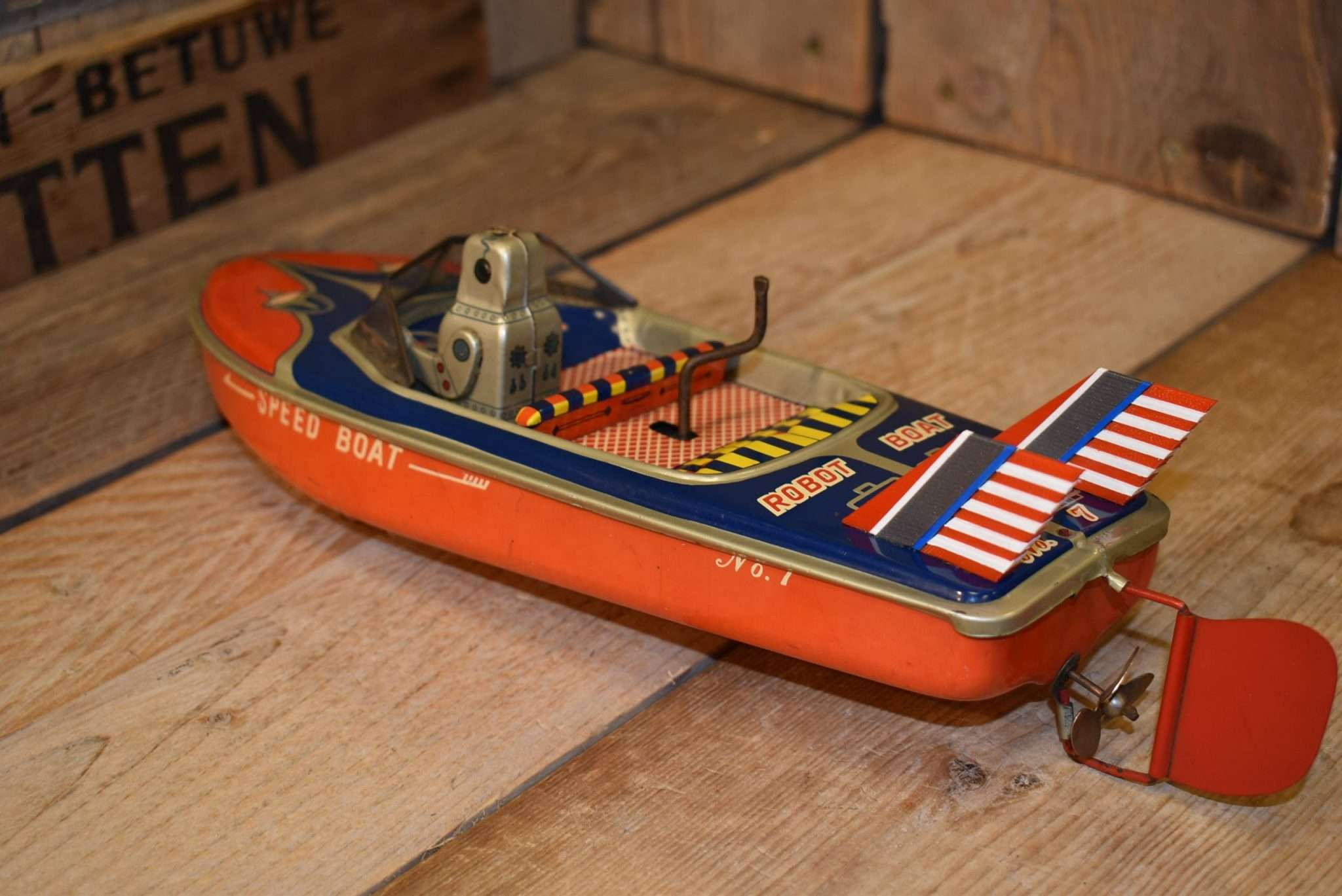 Marusan - Robot Speed Boat No.7