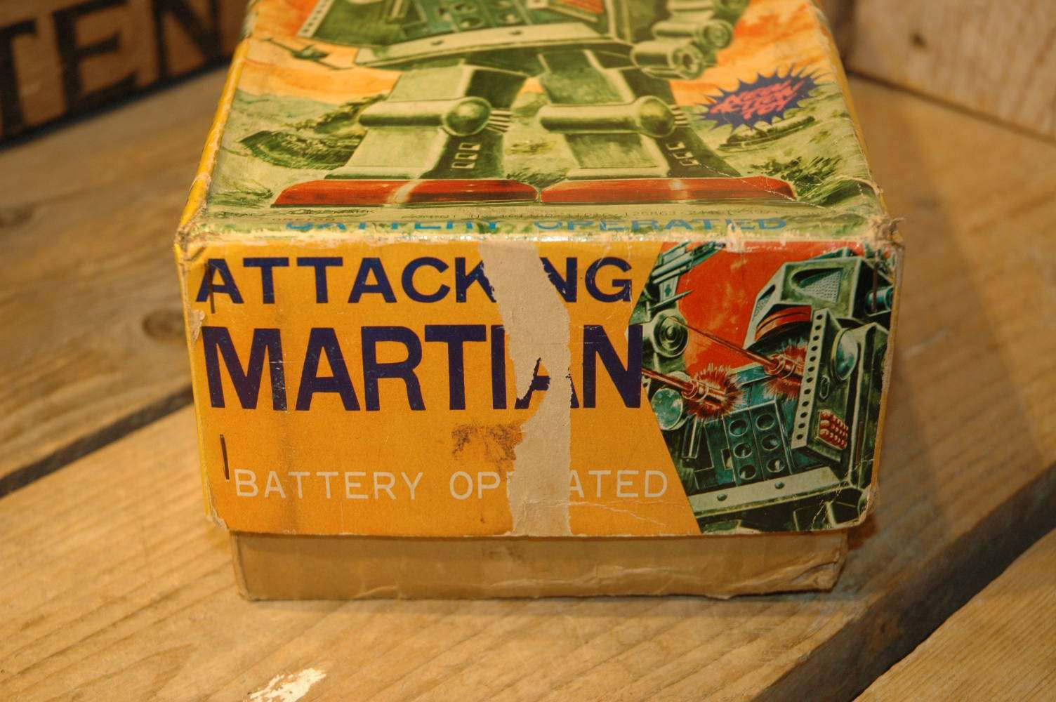 Horikawa - Attacking Martian