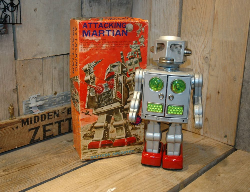 SH Horikawa – Attacking Martian