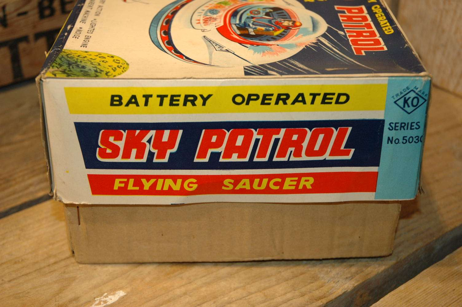 Yoshiya KO - Sky Patrol Flying Saucer
