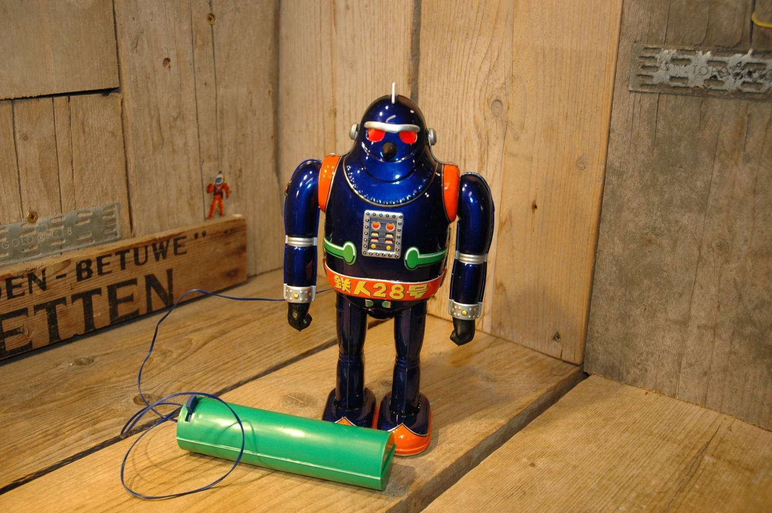 Otti - Gigantor No.5 Tetsujin 28 Robot Dark Blue Variation