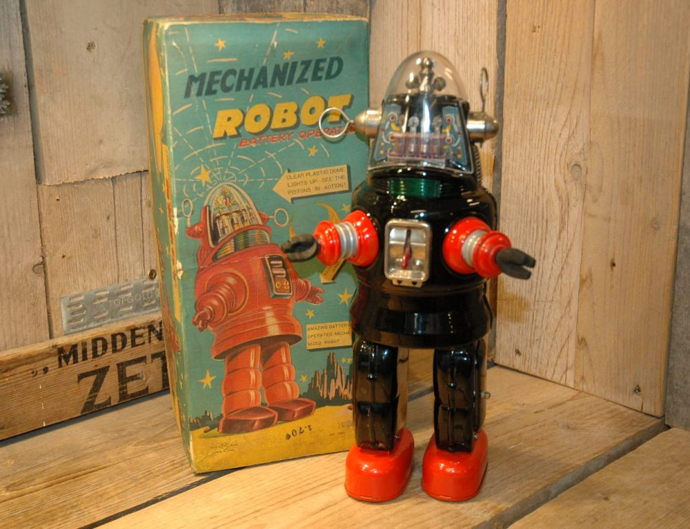 Nomura – Mechanized Robby Robot (First Version)