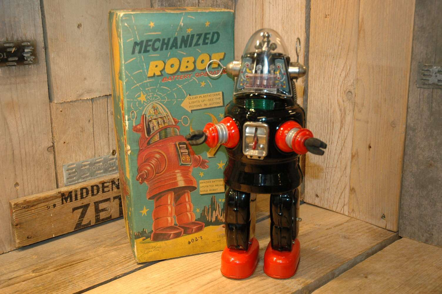Nomura - Mechanized Robby Robot ( First Version )