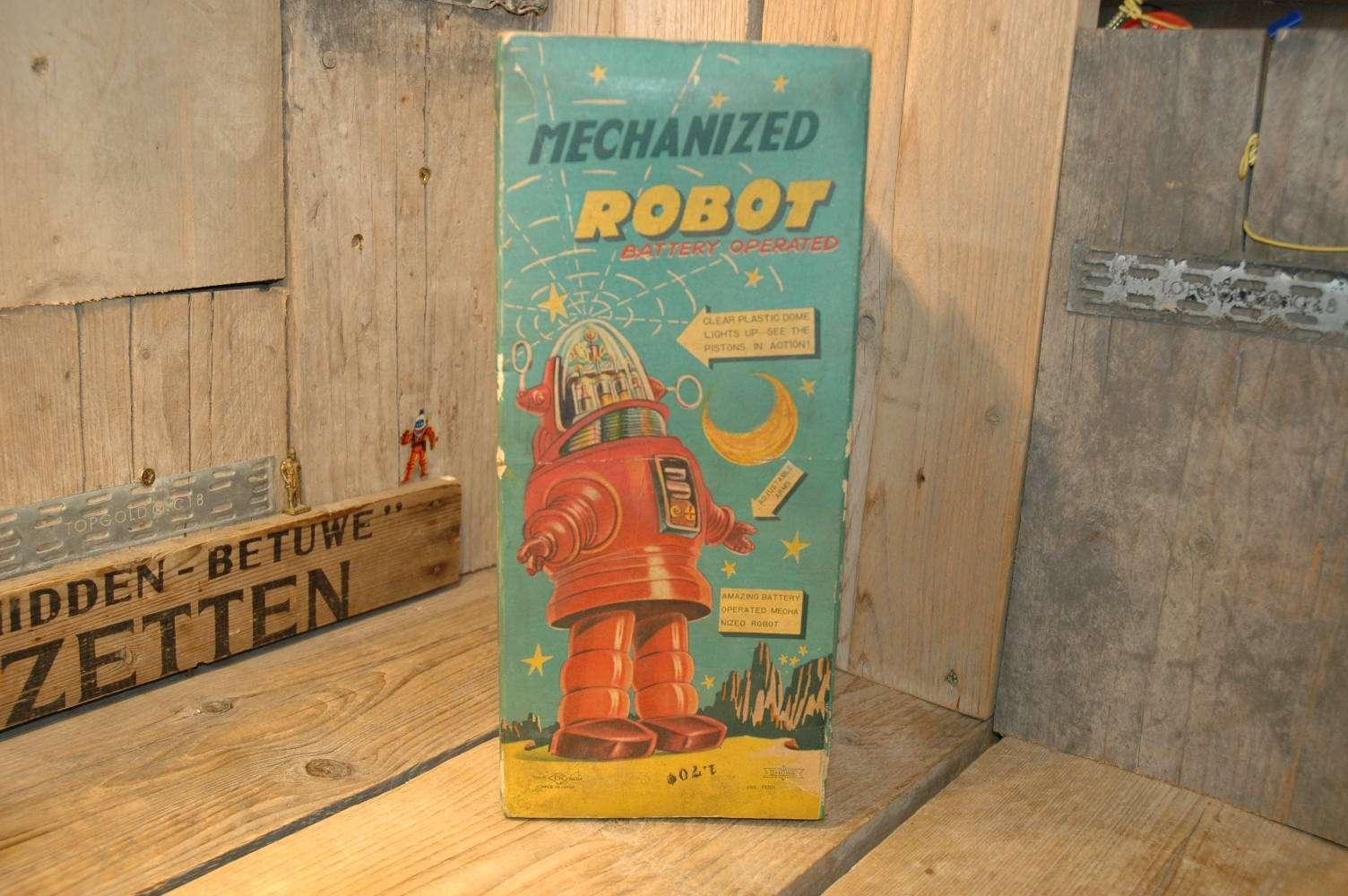 Nomura - Mechanized Robby Robot ( First Version )