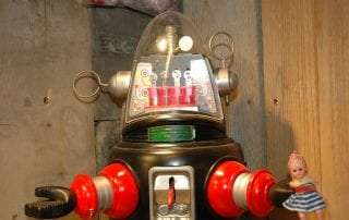 Metal House - Mechanized Robby Robot Prototype 000 of 200