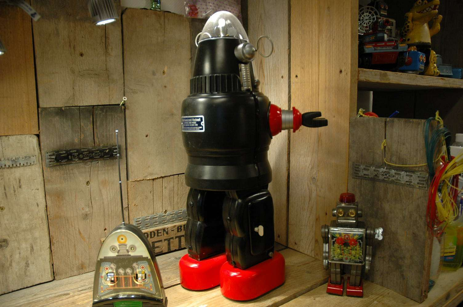 Metal House - Mechanized Robby Robot Prototype 000 of 200