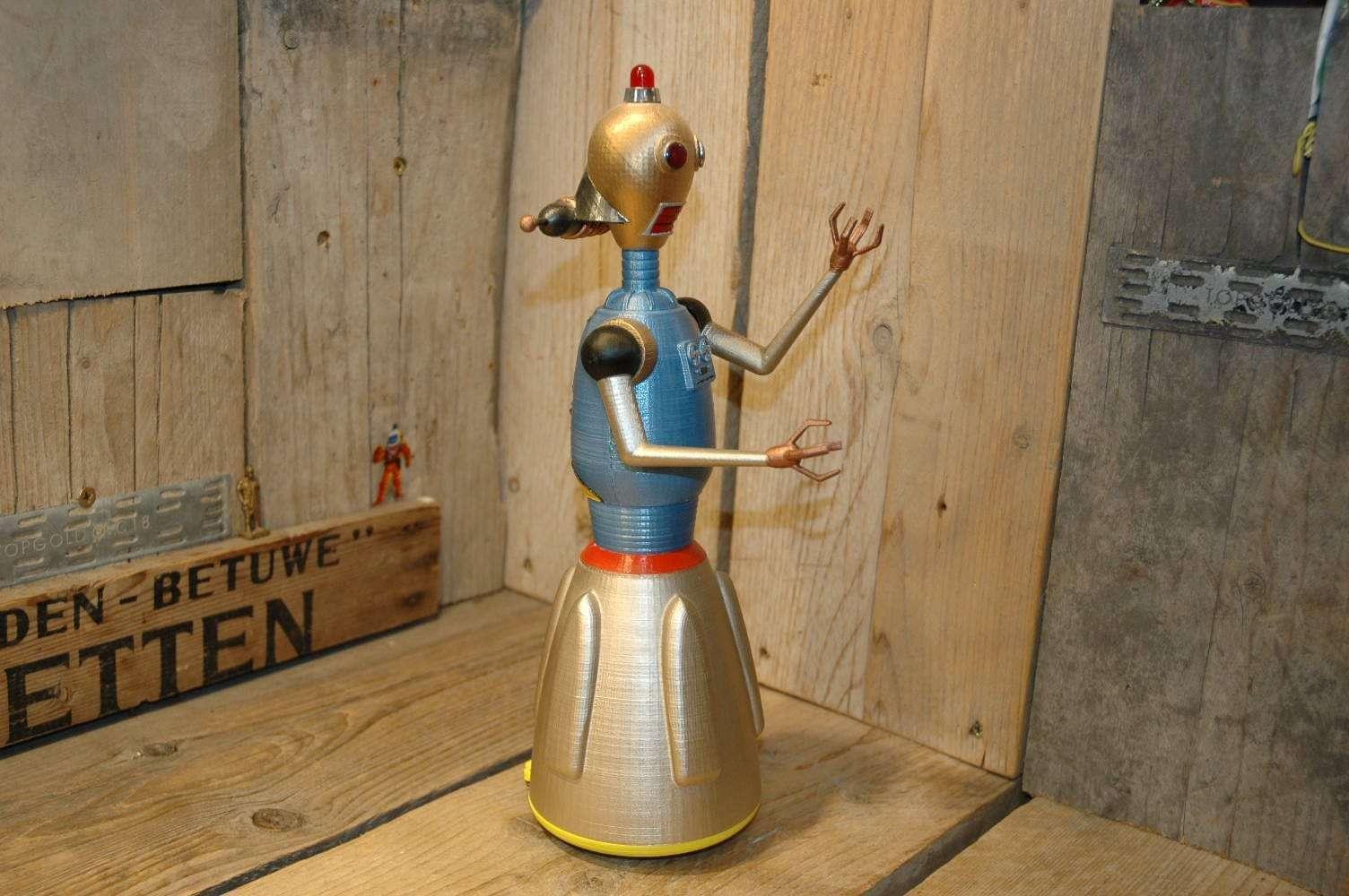 Roboz Inc. - Mrs. Radicon Robot