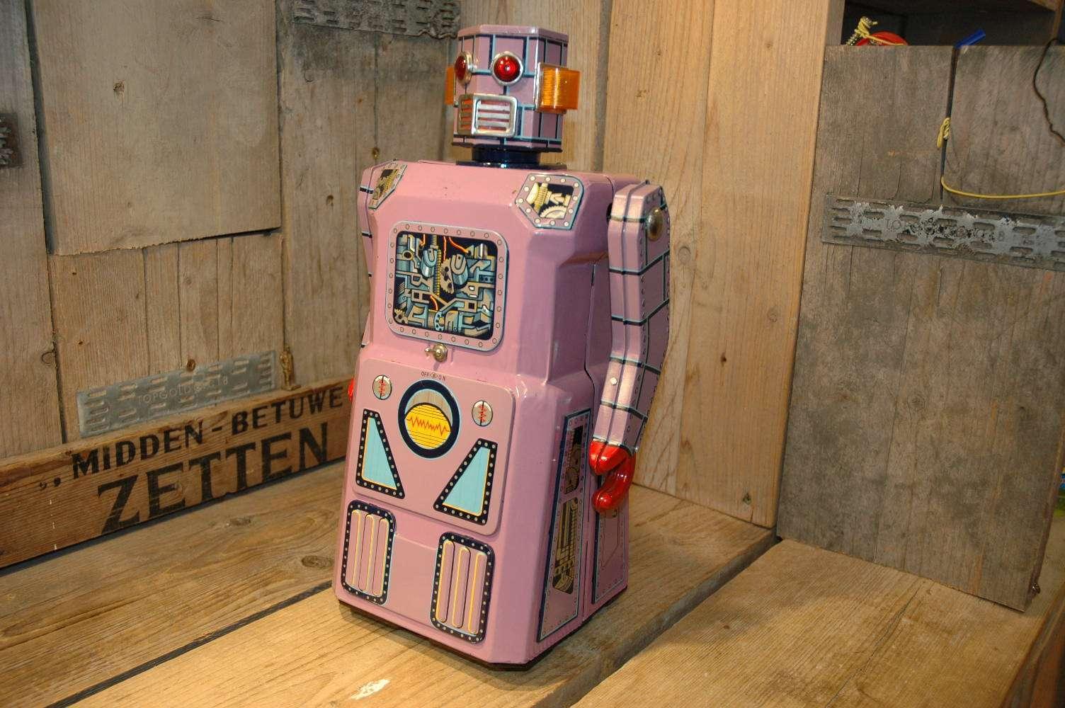 Modern Toys - Lavender Robot