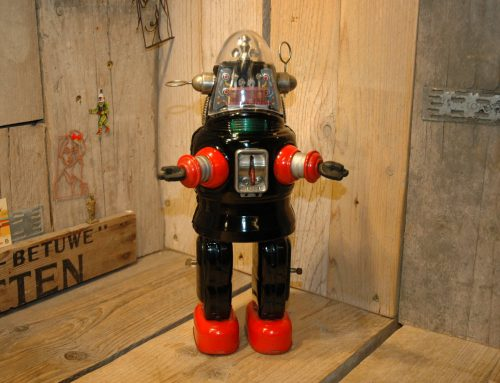 Nomura – Mechanized Robby Robot (Second Version )