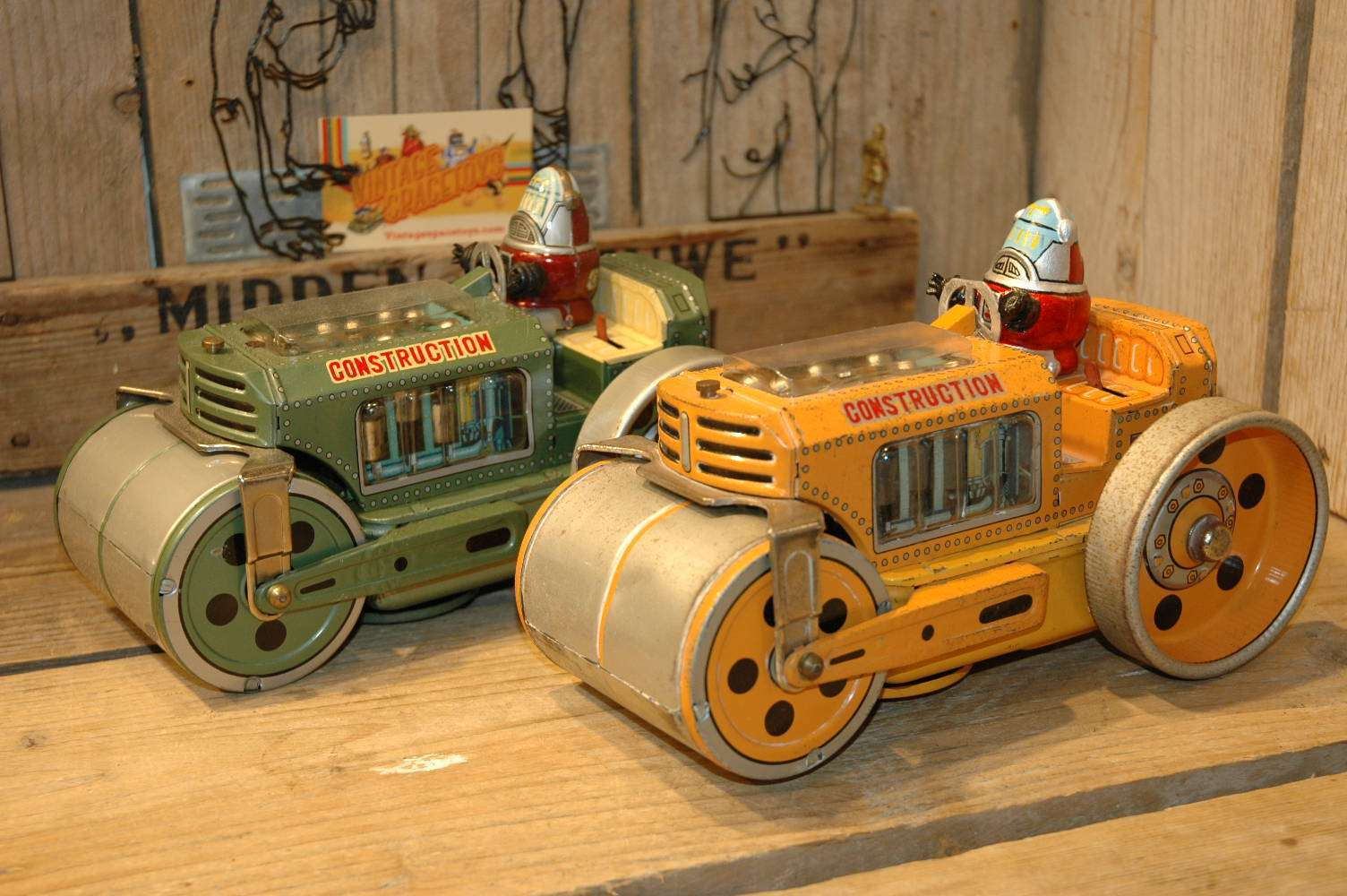 Daiya - Road Construction Roller Custom Made