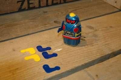 """VST - 3D Printed Arms for Yone Tetsujin """"Owl"""" Gigantor Robot."""