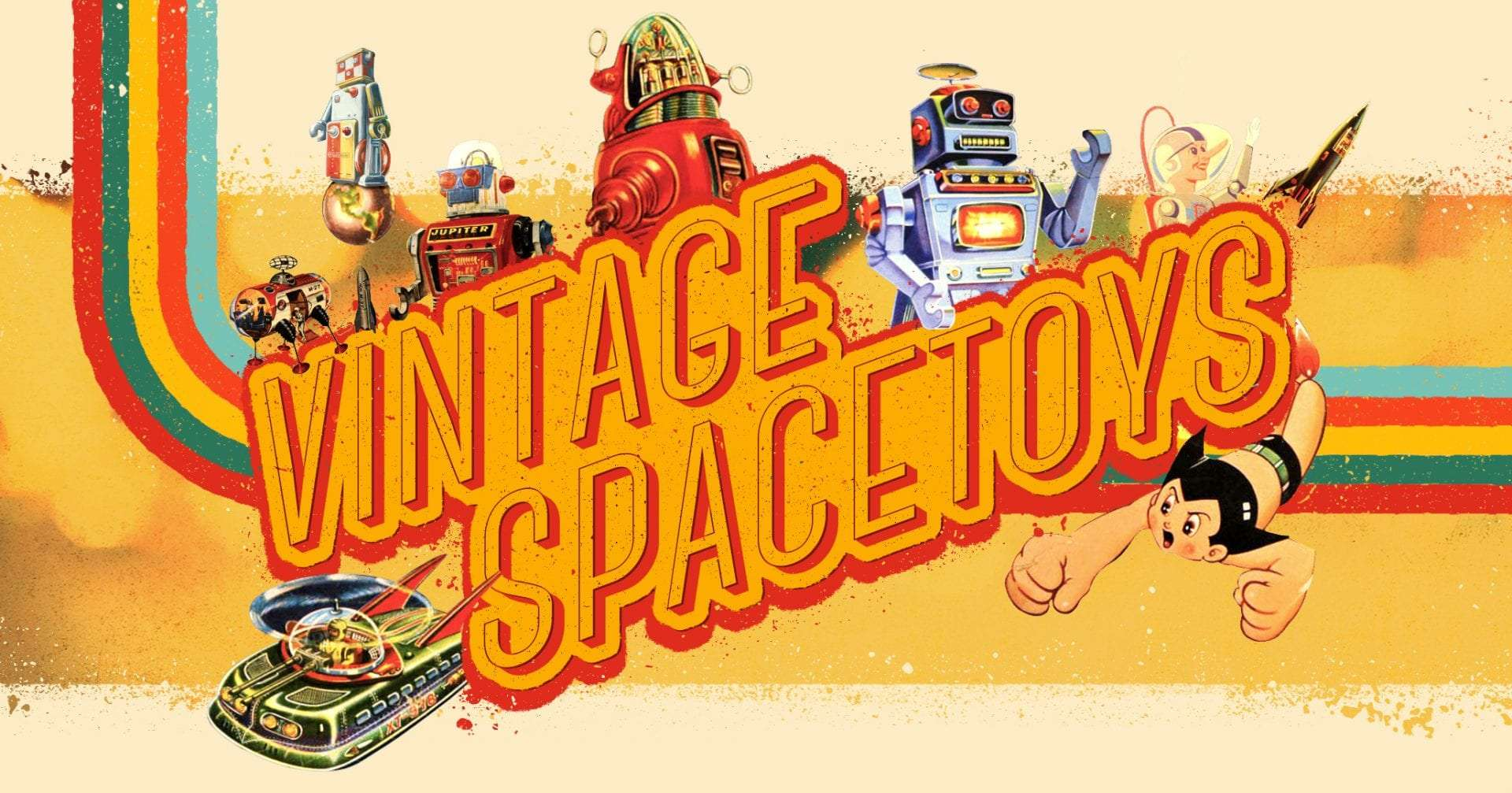 Vintage spacetoys
