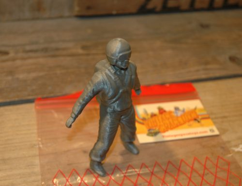 VST – 3D Printed Replacement Astronaut for Linemar Space Platform.