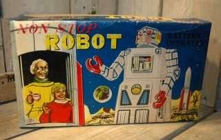 Modern Toys - NON STOP Robot aka Lavender Robot