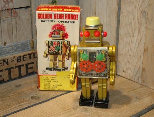 Horikawa – Golden Gear Robot