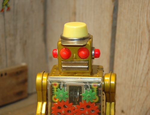 Frankonia Golden Gear Robot