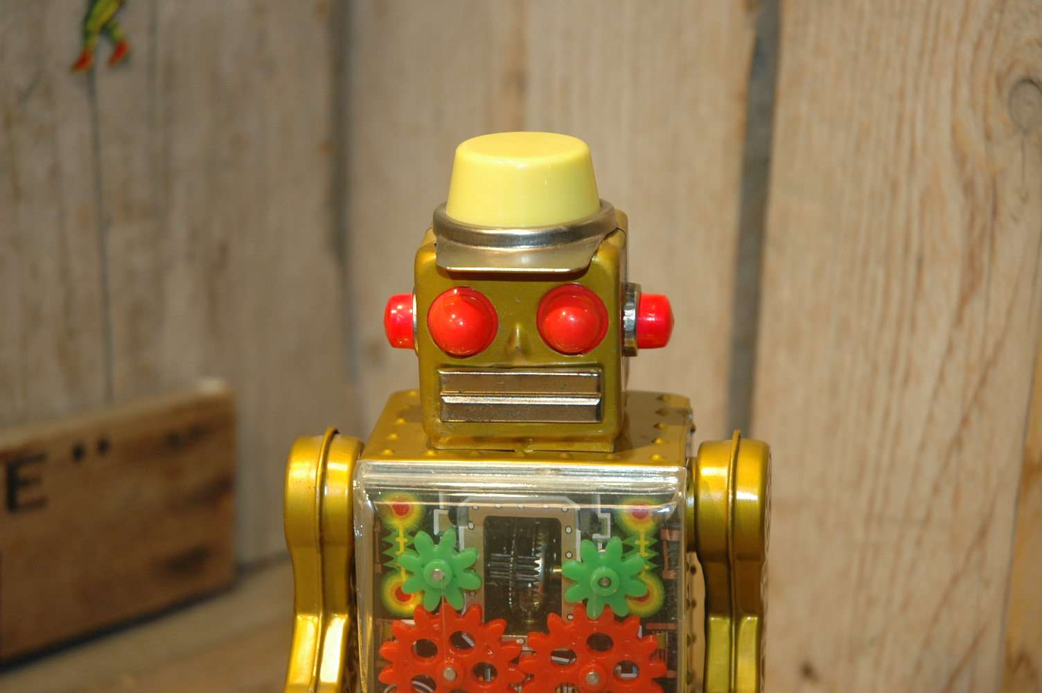 Horikawa - Golden Gear Robot