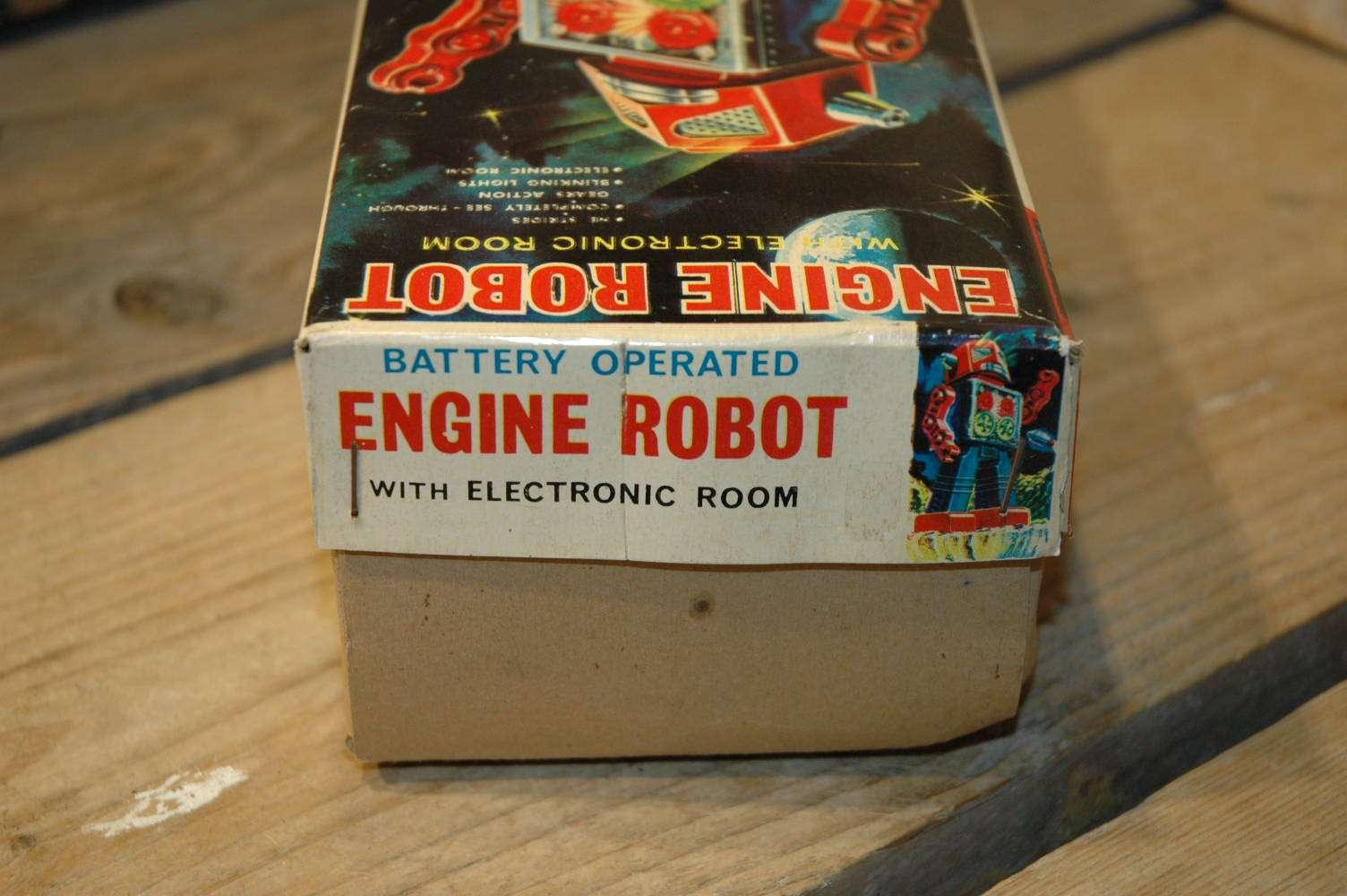 Horikawa - Engine Robot with Electronic Room