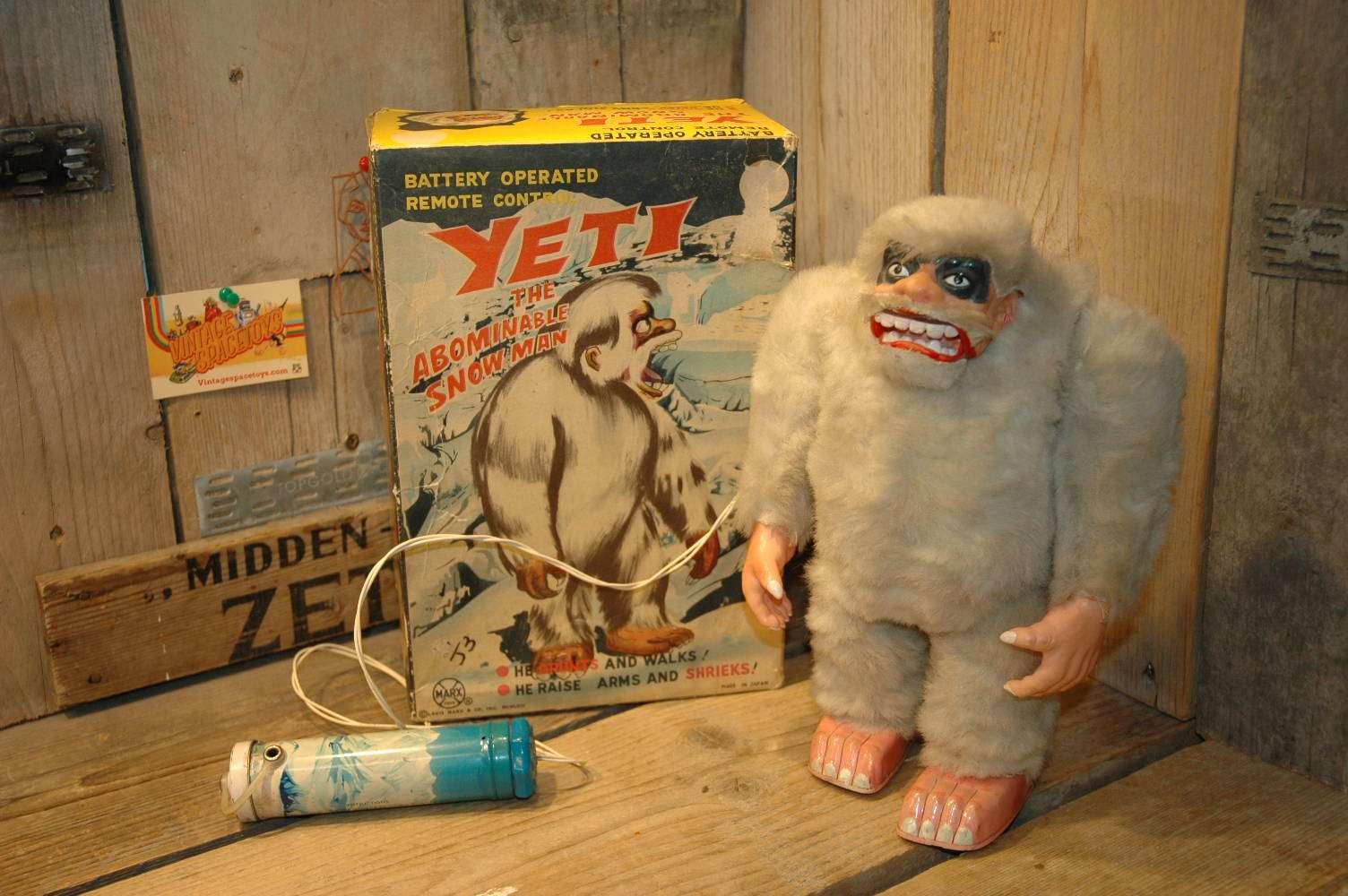 Marx Toys - Yeti The Abominable Snow Man