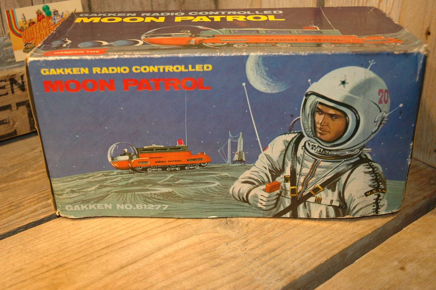 Gakken - Moon Patrol Radio Controlled