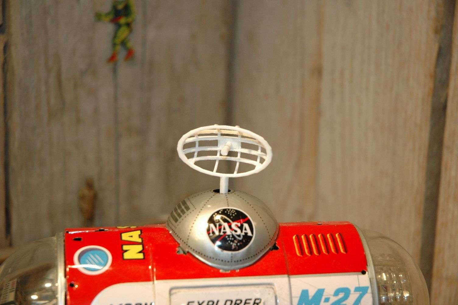 Yonezawa - Moon Explorer M27 antenna