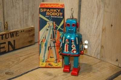 Yoshiya - Sparky Robot Blue variation
