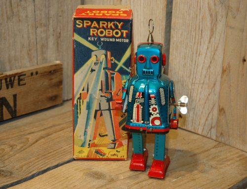 Yoshiya – Sparky Robot Blue Variation