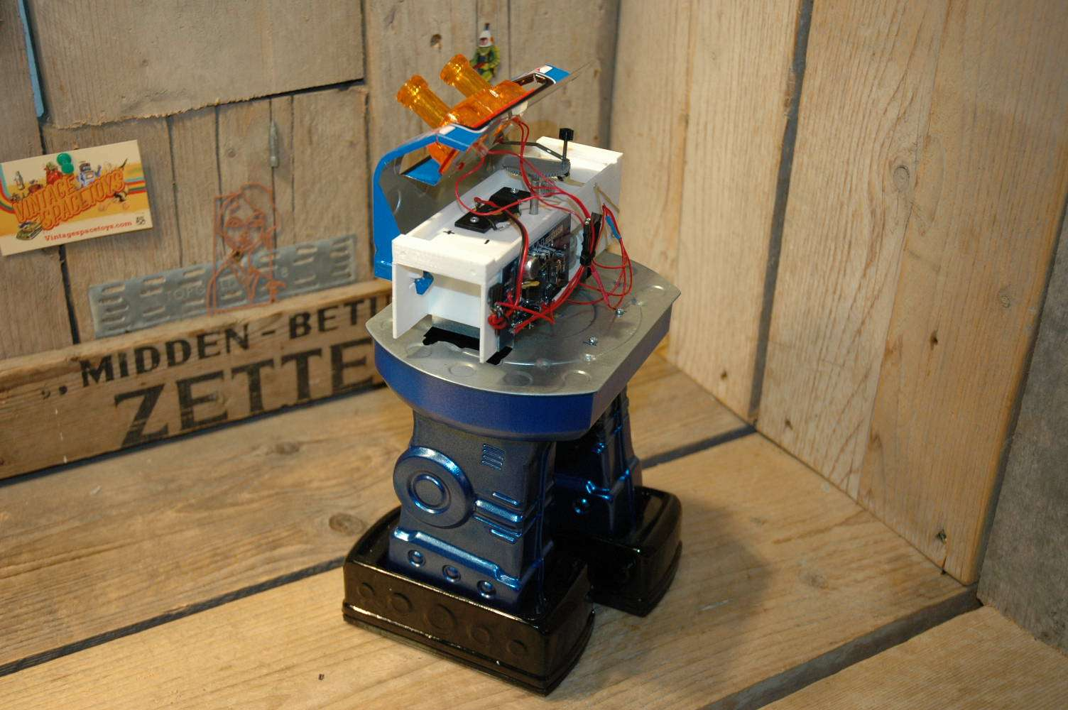 VST / SH - Shigeru Giant Laser Robot