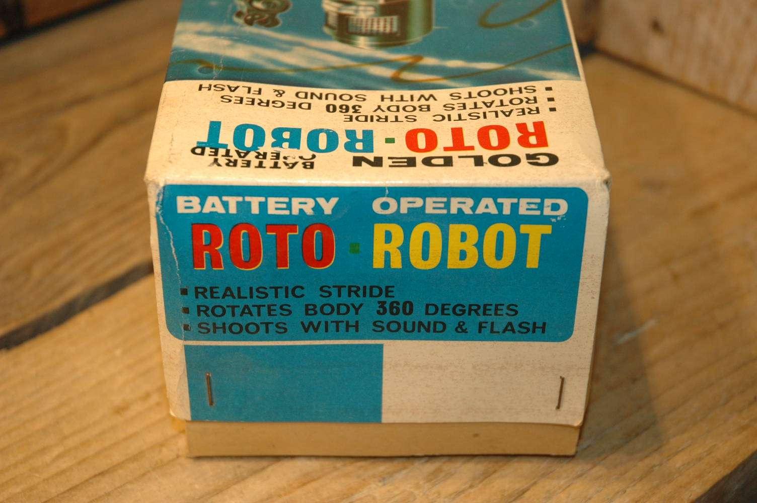 Horikawa - Golden Roto Robot