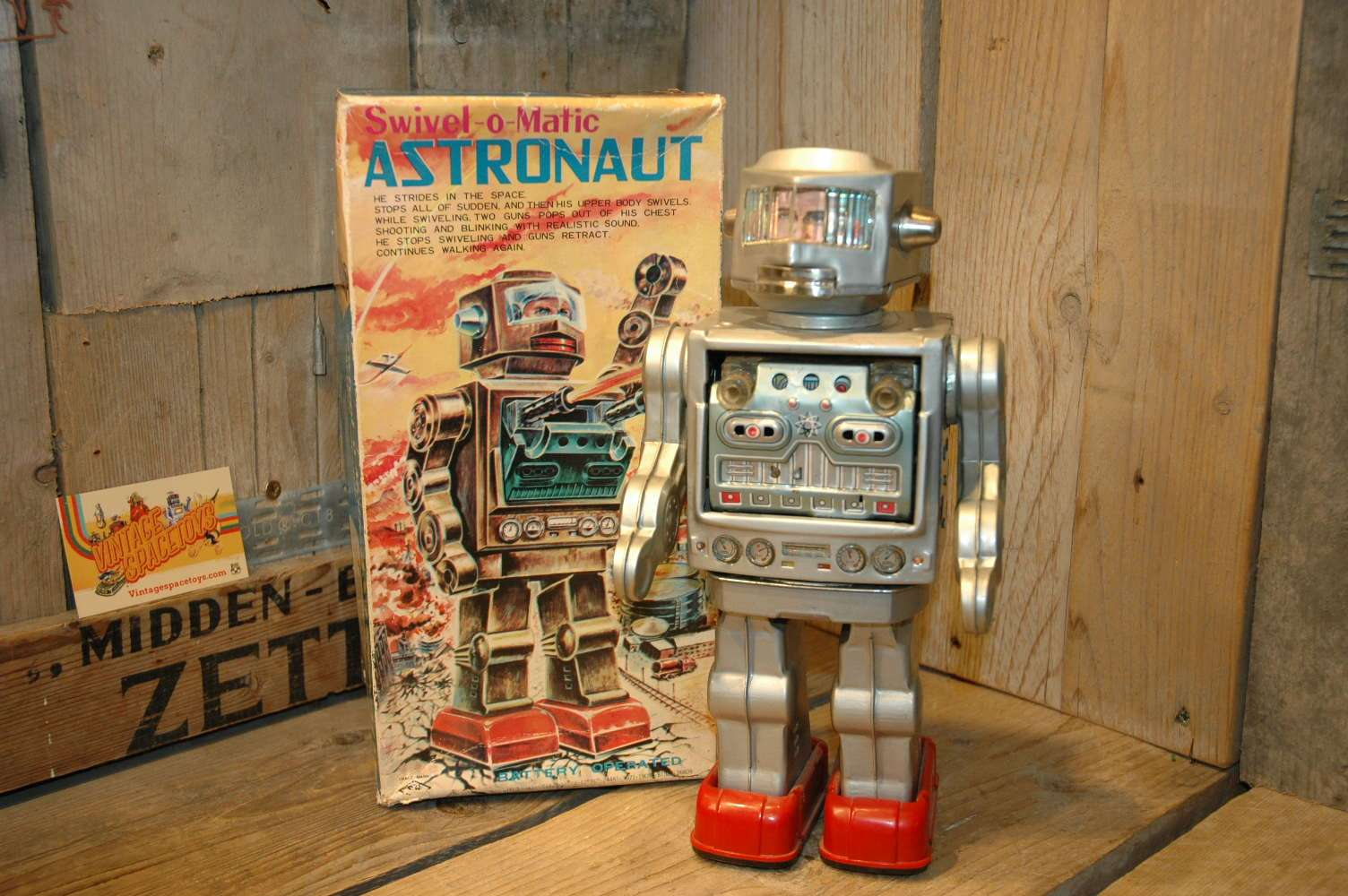 Horikawa - Swivel O'Matic Astronaut Silver Version
