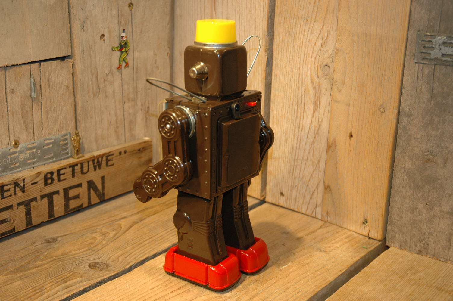 Horikawa - Fighting Robot Brown version