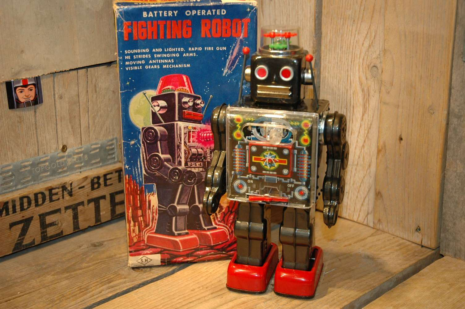 Horikawa - Fighting Robot