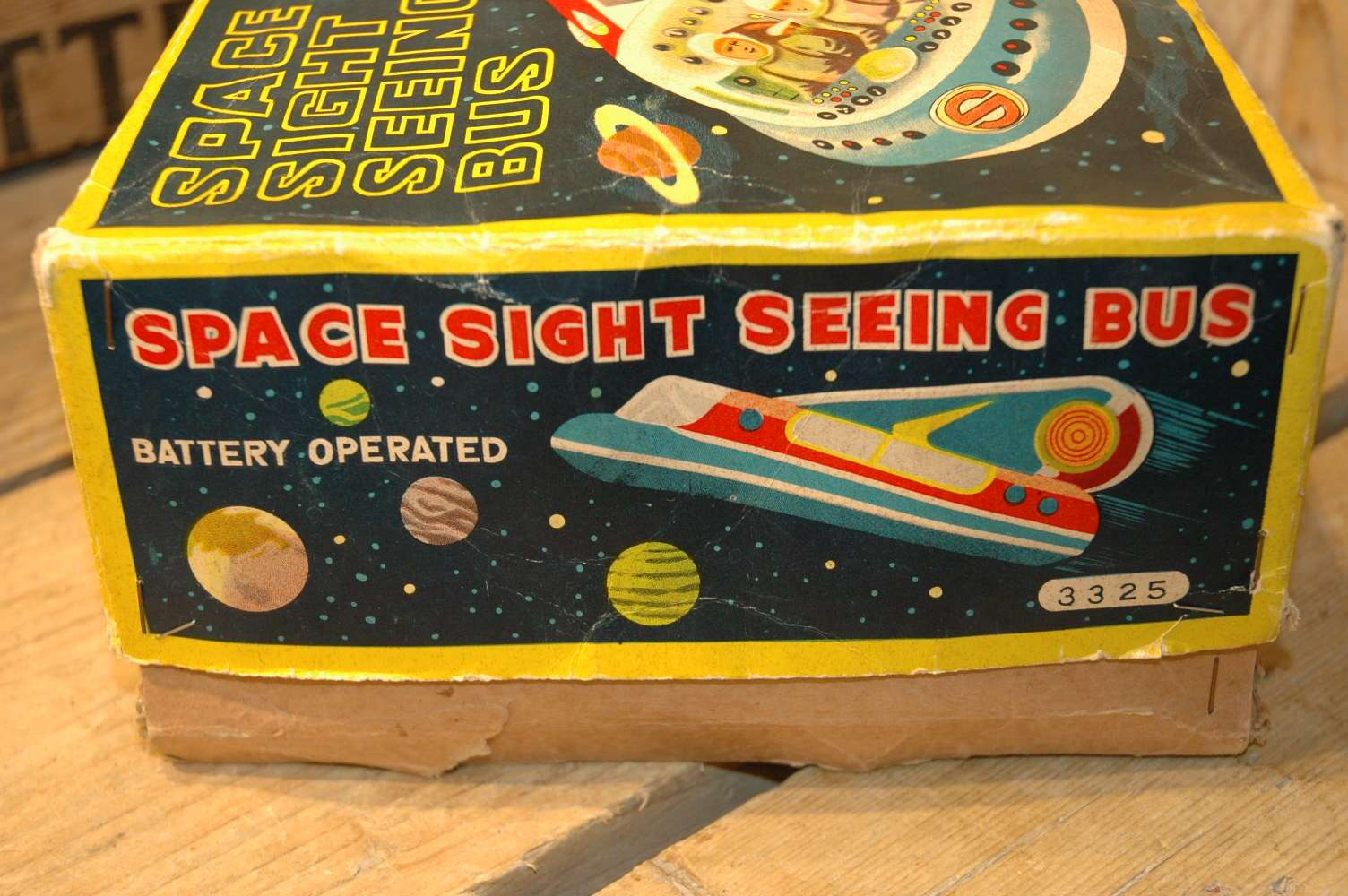 Modern Toys - Space Sight Seeing Bus