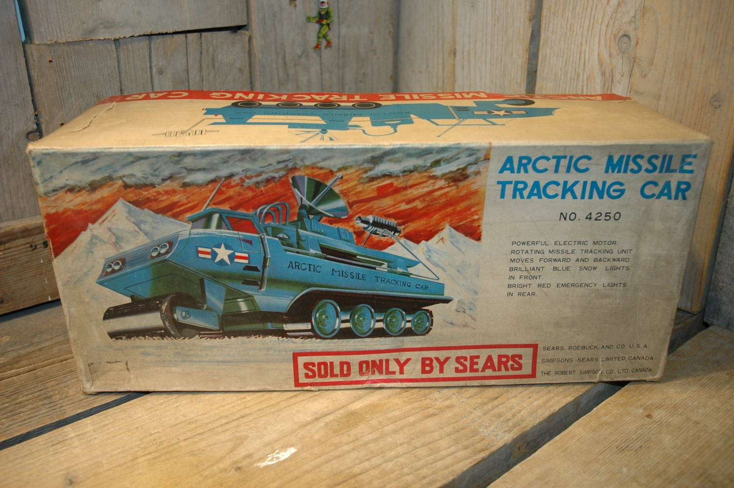 Bandai Sears - Arctic Missile Tracking Car
