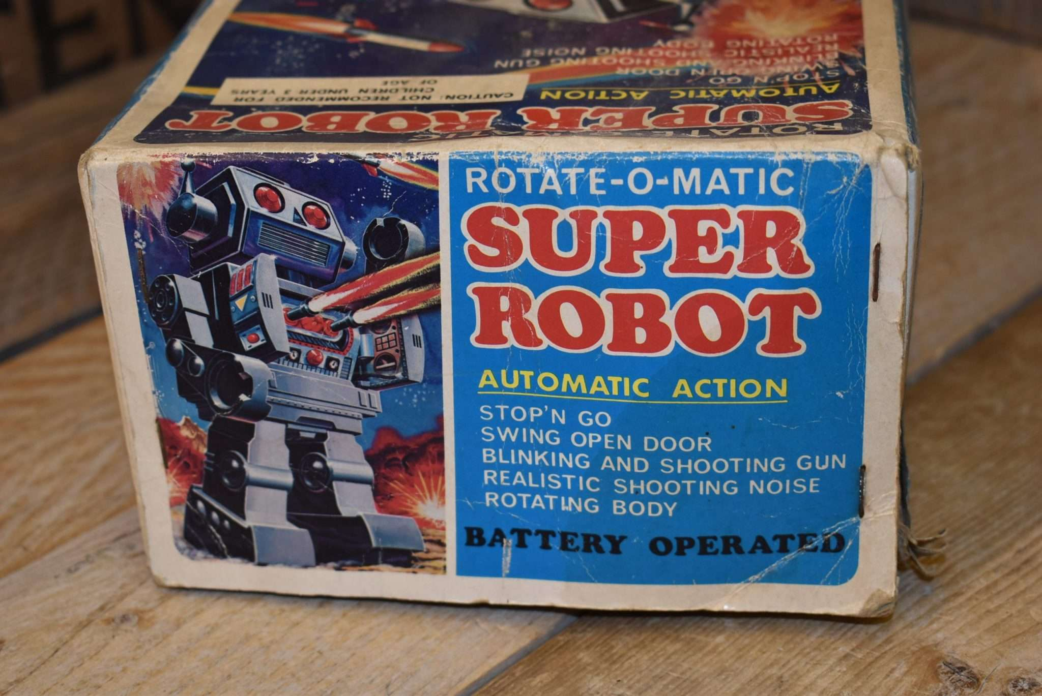 Horikawa - Rotate-O-Matic Super Robot