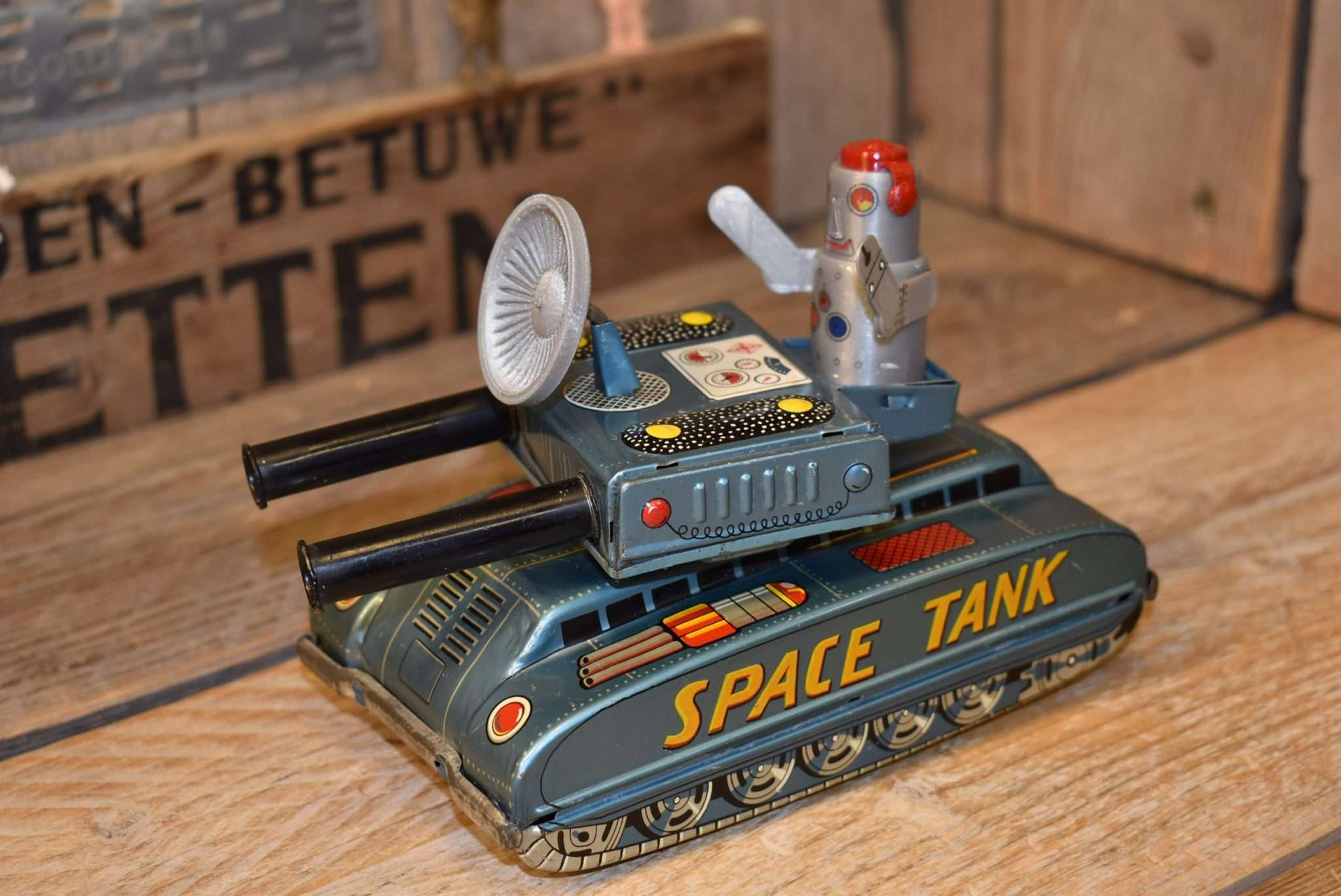 Aoshin - Space Tank