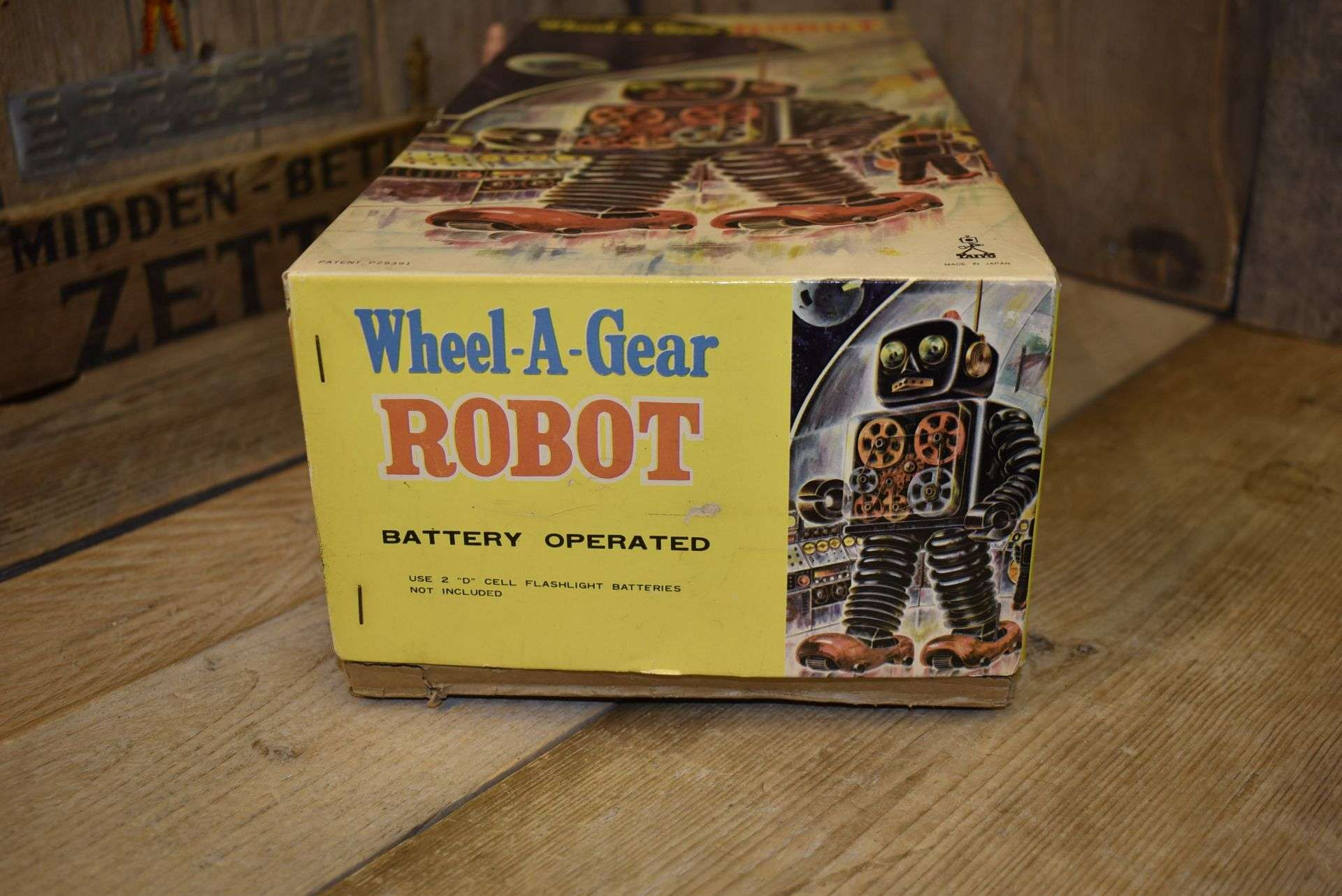 Taiyo - Wheel a Gear Box Only