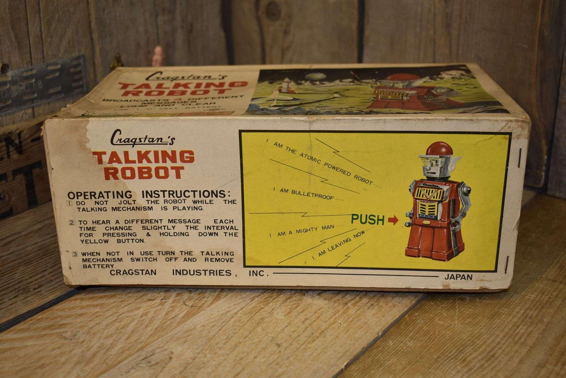 Yonezawa Cragstan - Talking Robot