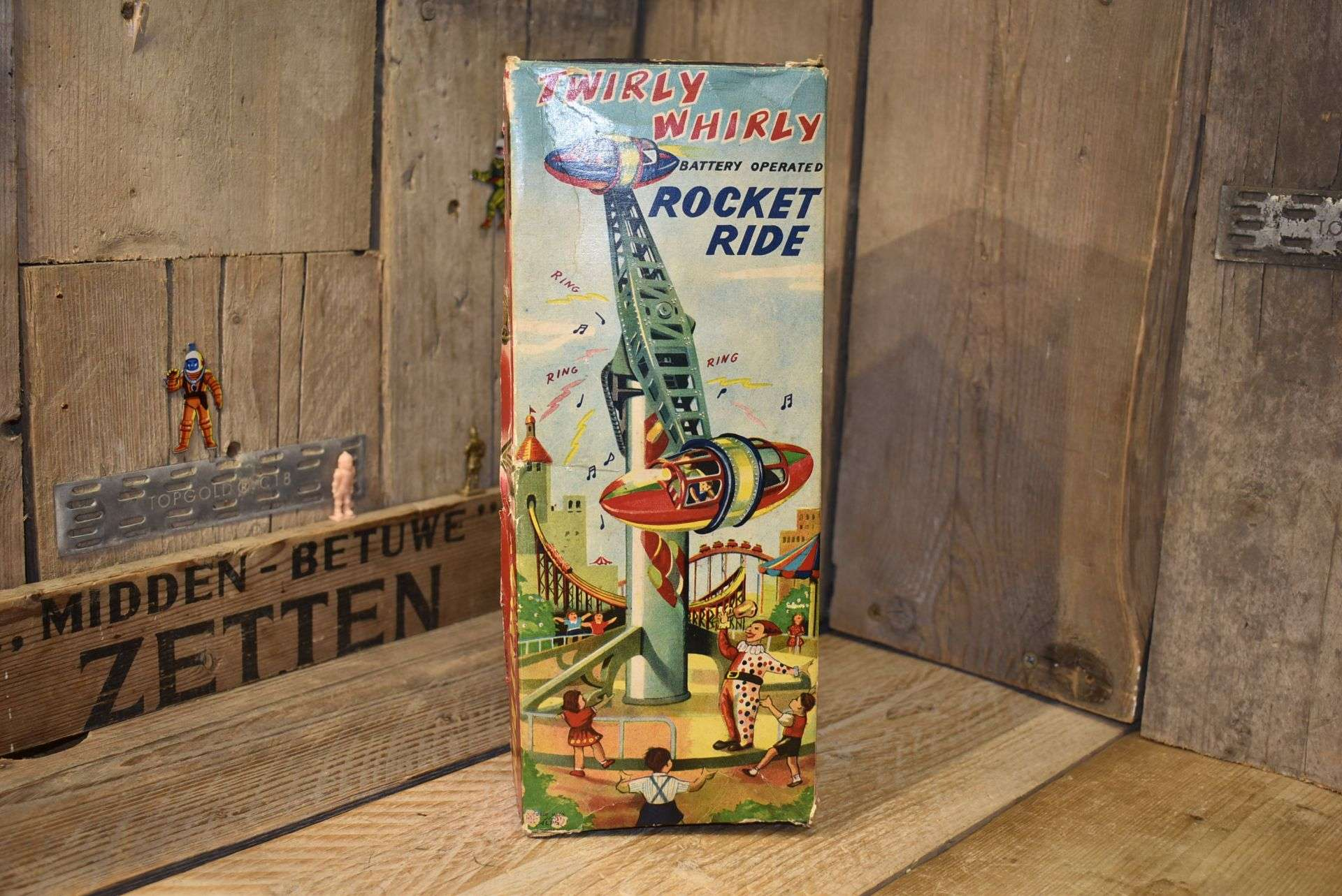 Alps - Twirly Whirly Rocket Ride